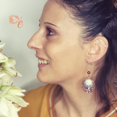 collection Mathilde le murmure des étincelantes Boucles d'oreilles 1.3